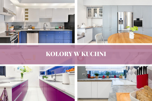 Kolory w kuchni - zdjęcia projektów kuchennych w wykoanniu Kuchnie pinio. Niebieska kuchnia, zielona kuchnia, szara kuchnia, biała kuchnia.