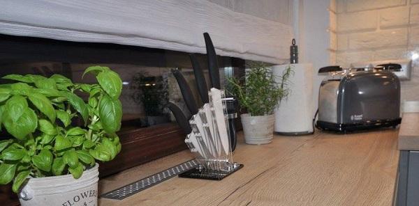 Odnowienie kuchni tanim kosztem - rady odKuchnie Pinio - akcesoria