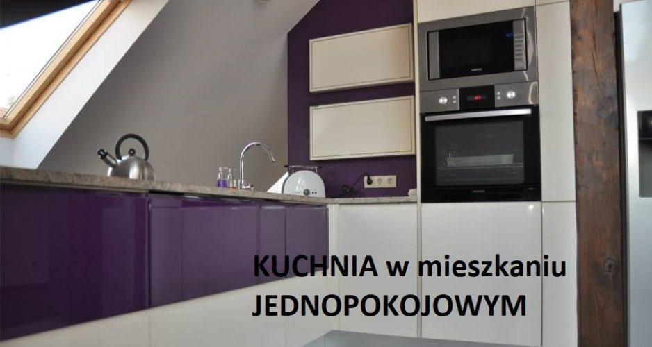 Kuchnia w mieszkaniu jednopokojowym - Kuchnie Pinio