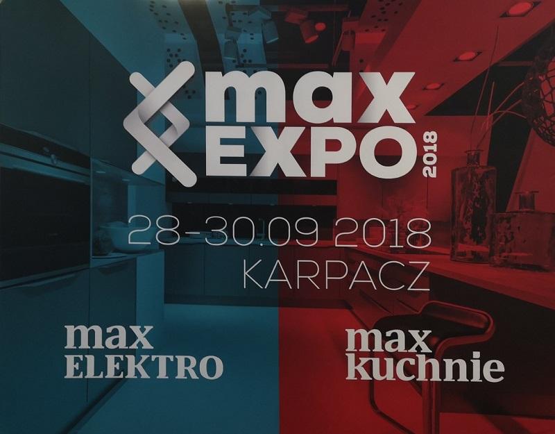 Targi MaxExpo, Technologia&Design, MaxKuchnie, MaxElektro, Kuchnie Pinio, Karpacz, 2018