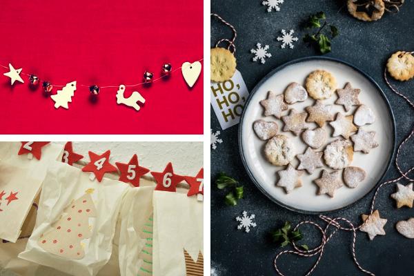 Wystrój kuchni naBoże Narodzenie, kalendarz adwentowy, Kuchnie Pinio