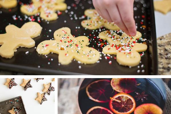 Wystrój kuchni naBoże Narodzenie, świąteczne pierniczki, pierniki naBoże Narodzenie, grzaniec, Kuchnie Pinio
