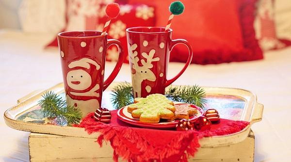 Wystrój kuchni naBoże Narodzenie, świąteczna zastawa, zastawa bożonarodzeniowa, Kuchnie Pinio