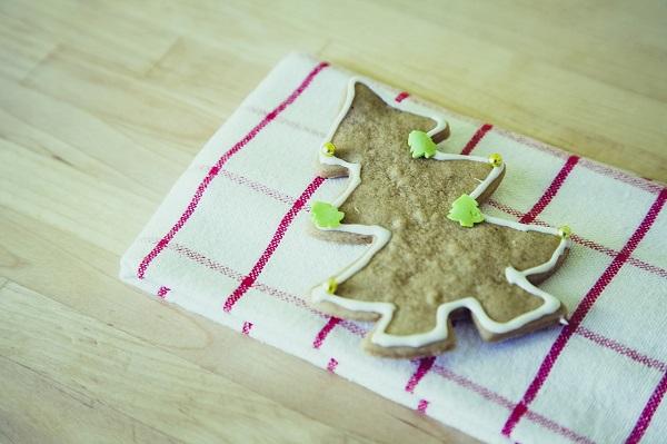 Wystrój kuchni naBoże Narodzenie, pierniki świąteczne, piernik choinka, Kuchnie Pinio