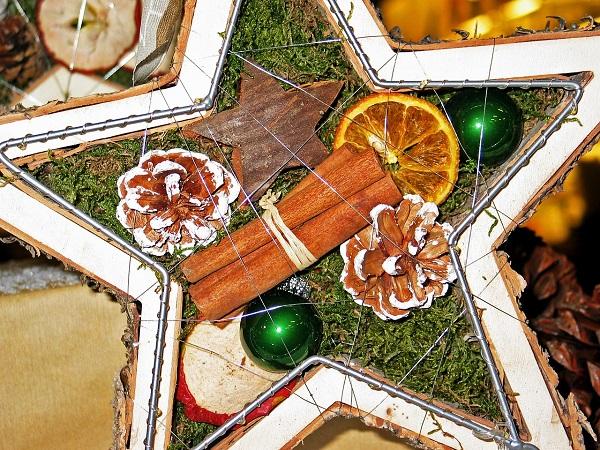 Wystrój kuchni naBoże Narodzenie, stroik świąteczny, stroik bożonarodzeniowy, Kuchnie Pinio