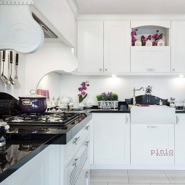 gdzie zamówić projekt kuchni, projektowanie kuchni, firma projektująca kuchnie, biała kuchnia, kuchnia wstylu prowansalskim