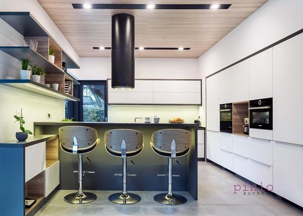 najpiękniejsze kuchnie galeria, najpiękniejsze kuchnie zdjęcia, kuchnia zwyspą, projekt kuchni, projektowanie kuchni