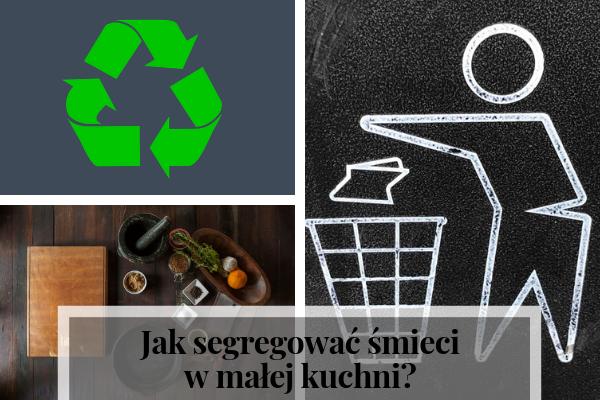 jak segregować śmieci w małej kuchni, projektowanie kuchni, segregacja odpadów, pojemniki na odpady, kosz na śmieci, BIO, plastik, szkło