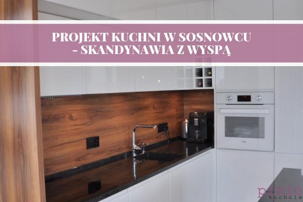 Kuchnia na wymiar Sosnowiec - projekt kuchni Sosnowiec w wykonaniu Kuchnie Pinio.
