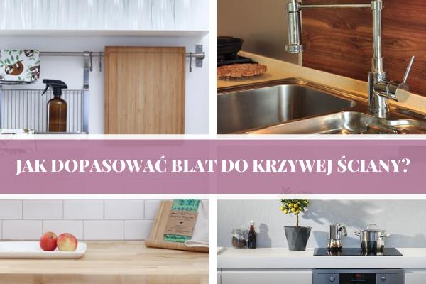 Jak dopasować blat do krzywej ściany - projektowanie kuchni Sosnowiec - Kuchnie Pinio.