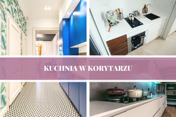 Kuchnia w korytarzu - projekt kuchni w korytarzu.