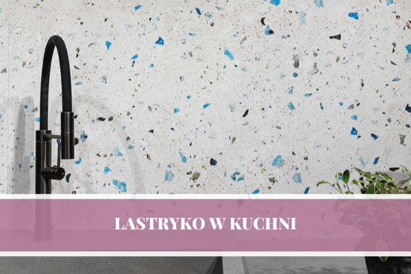 Lastryko w kuchni - projekt kuchni Katowice by Kuchnie Pinio.
